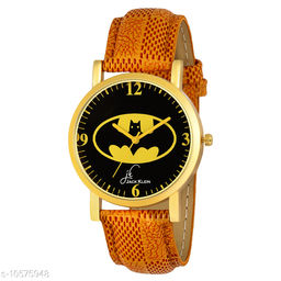 Batman Edition Golden Case Wrist Watch