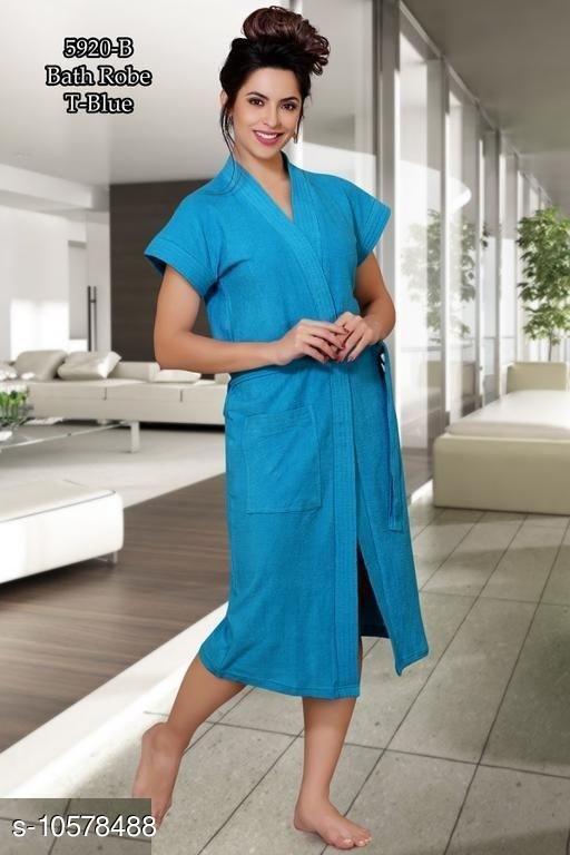 New Stylish Women's Bathrobes