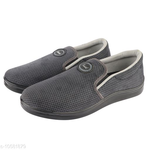 Loafers Unistar Men's Round Toe Shape Mesh Grey Slip On Moccasins/Loafer Shoes   *Material* Mesh  *Sole Material* Pu  *Pattern* Solid  *Multipack* 1  *Size*  IND- 6, IND - 7, IND- 8, IND- 9, IND- 10  *Sizes Available* Free Size *    Catalog Name: Trendy Loafers For Men CatalogID_1936541 C67-SC1470 Code: 445-10581879-