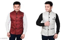 BizzEie Men's Ethnic Jacket