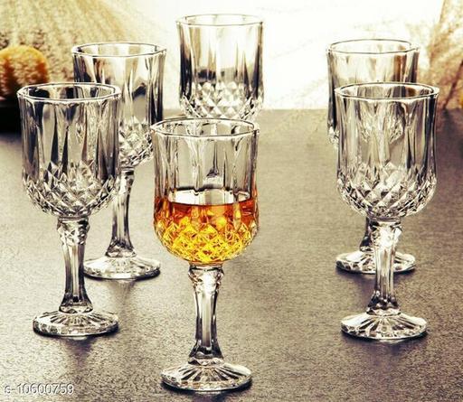 CRYSTAL WINE GLASS 180 ml (4 pic)