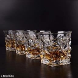 WHISKY DIAMOND GLASS 310 ml (4 pic)