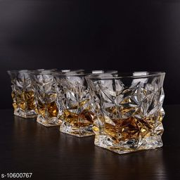WHISKY DIAMOND GLASS 310 ml (6  pic)