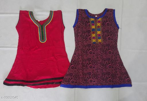 Tops & Tunics RAYON KURTHA  *Fabric* Cotton  *Multipack* Single  *Sizes*  3-4 Years  *Sizes Available* 3-4 Years *    Catalog Name: Flawsome Stylus Girls Tops & Tunics CatalogID_1941330 C62-SC1142 Code: 062-10601045-