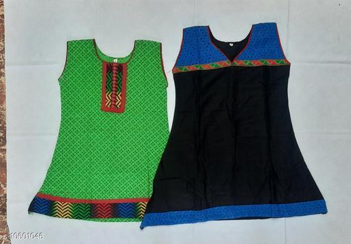 Tops & Tunics RAYON KURTHA  *Fabric* Cotton  *Multipack* Single  *Sizes*  3-4 Years  *Sizes Available* 3-4 Years *    Catalog Name: Flawsome Stylus Girls Tops & Tunics CatalogID_1941330 C62-SC1142 Code: 062-10601046-