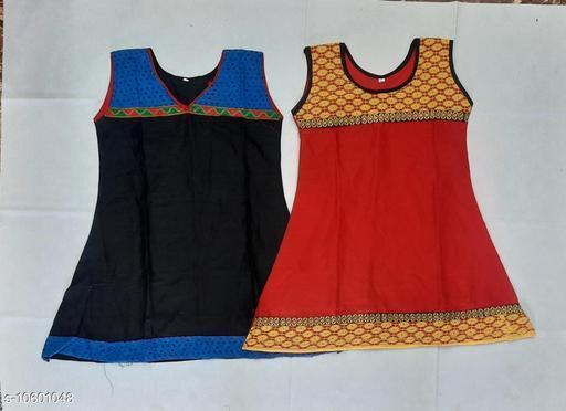 Tops & Tunics RAYON KURTHA  *Fabric* Cotton  *Multipack* Single  *Sizes*  3-4 Years  *Sizes Available* 3-4 Years *    Catalog Name: Flawsome Stylus Girls Tops & Tunics CatalogID_1941330 C62-SC1142 Code: 062-10601048-