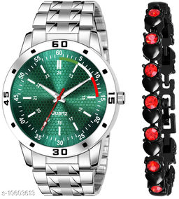 K25 & J16 Pack of 2 Attractive Unique Dial With Unique And Exclusive New Analog Watches For Men & Women Bracelet