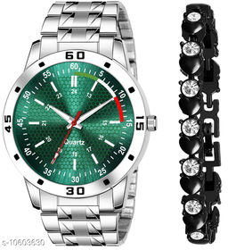 K25 & J21 Pack of 2 Attractive Unique Dial With Unique And Exclusive New Analog Watches For Men & Women Bracelet