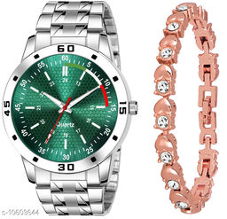 K25 & J9 Pack of 2 Attractive Unique Dial With Unique And Exclusive New Analog Watches For Men & Women Bracelet