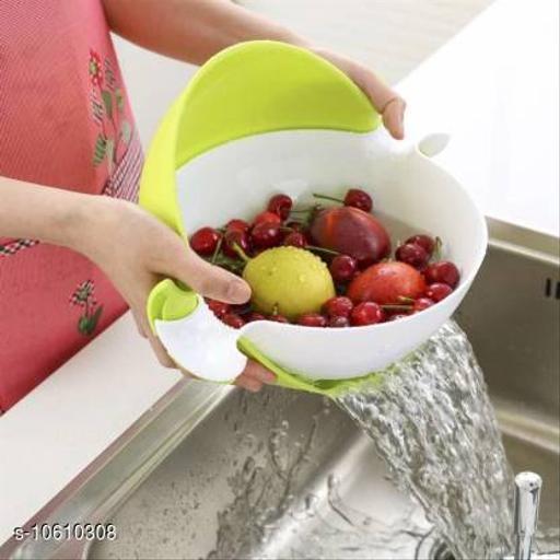 Food Strainers Colorful Washing Bowl Colorful Washing Bowl  *Sizes Available* Free Size *    Catalog Name: Stylo Washing Bowl CatalogID_1943467 C135-SC1649 Code: 382-10610308-