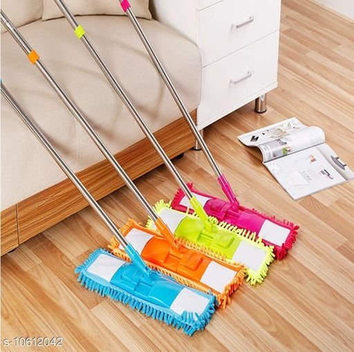Cleaning brushes Trendy Cleaning Mop  *Material* Microfiber  *Type* 360 degree  *Pack* Pack of 4  *Size* Free size  *Sizes Available* Free Size *    Catalog Name: New Cleaning Brushes  CatalogID_1943893 C89-SC1749 Code: 486-10612042-