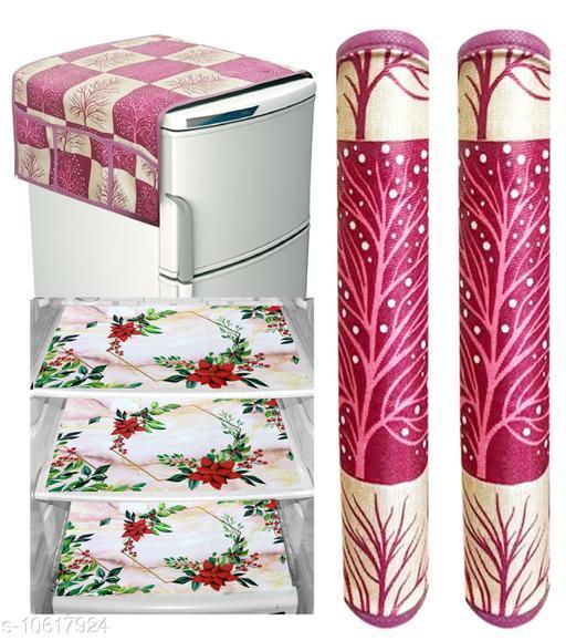 Fridge Covers Modern Fridge Combos  *Material* PVC  *Pack* Multipack  *Sizes Available* Free Size *    Catalog Name: Stylo Fridge Combos CatalogID_1945495 C131-SC1623 Code: 503-10617924-