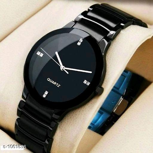Stylish Analog Leather Watches