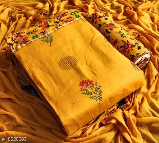 Trendy Jaipuri Cotton printed suit