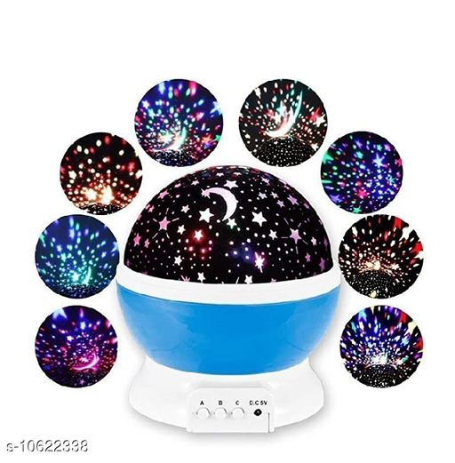 LED Lights & Lamps LED Lights & Lamps | Other Diwali & Festive Decor  *Sku* -oooioo  *Material* Plastic  *Type* Night Lamp  *Waterproof* No  *Power Source* USB  *Light Source* 4 LED Bulbs  *Pack* Pack of 1  *Size*   *W x H* 13 cm x 14 cm  *Package Included* 1 x Star Projector 1 x USB Cable 1 x  *Price* -449  *Sizes Available* Free Size *    Catalog Name: LED Lights & Lamps | Other Diwali & Festive Decor CatalogID_1946636 C103-SC1416 Code: 145-10622338-