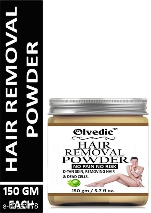 Face Hair Removal Powder Three in one Use For Powder D-Tan Skin, Removing Hair & Remove Dead cell For easy Remove Hair Parts No Rics No Pain 150 GM  *Product Name* Hair Removal Powder Three in one Use For Powder D-Tan Skin, Removing Hair & Remove Dead cell For easy Remove Hair Parts No Rics No Pain 150 GM  *Capacity* 150 gm  *Multipack* 1 Hair Removal  *Sizes Available* Free Size *    Catalog Name:  Premium Hydrating Cleansers CatalogID_1948910 C51-SC1241 Code: 292-10631178-053