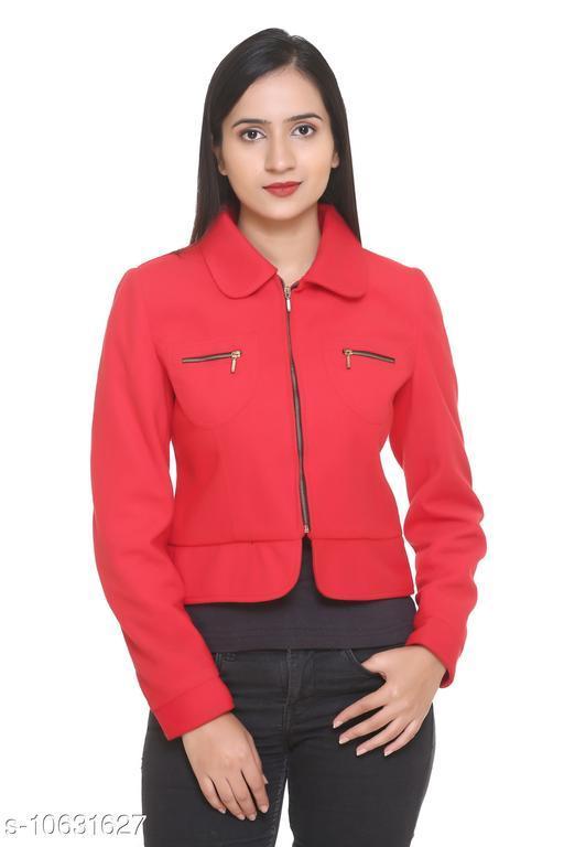 HANG N HOLD Women Cotton Blend Regular Fit Spread Collor Full Sleeve Winter Cardigan