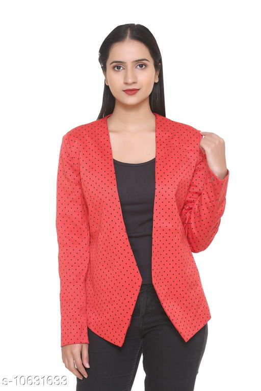 HANG N HOLD Women Polyester Regular Fit Full Sleeve Winter Cardigan