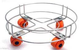 AKOSHA HEAVY GAS CYLINDER TROLLY(DYNAMIC LOAD CAPACITY 100 KG APPROVED) Gas Cylinder Trolley