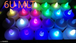 AMEEHA (PACK OF 12)BATTERY OPRATED MULTI COLOR DIA FOR DIWALI HOME DECORATION