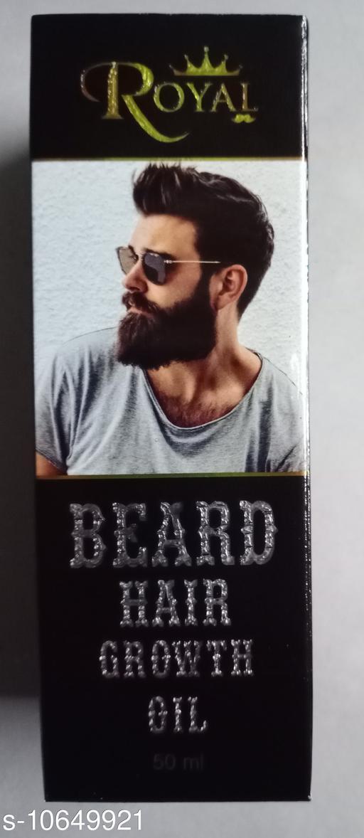 Hair Care ROYAL BEARD OIL  *Multipack* 1  *Sizes Available* Free Size *    Catalog Name:  Sensational Natural Beard Oil & Wax CatalogID_1953580 C50-SC1249 Code: 467-10649921-