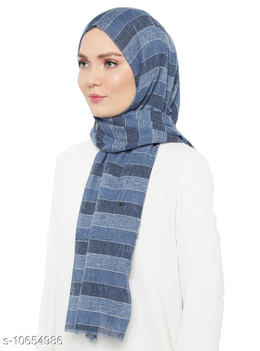 Hijabs JSDC Women's Pashmina Cotton Printed Scarves Hijab  *Sizes*   *Sizes Available* Free Size *    Catalog Name: Aagam Pretty Hijabs CatalogID_1954690 C72-SC1578 Code: 325-10654986-