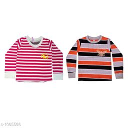 Amazing Cotton Kid's T-Shirts(Pack Of 2)