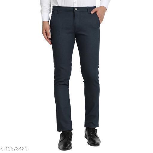 Trousers Men Trousers  *Fabric* Cotton  *Sizes*   *28 (Waist Size* 28 in, Length Size  *Sizes Available* 28 *    Catalog Name: Stylish Unique Men Trousers CatalogID_1959195 C69-SC1212 Code: 776-10673420-