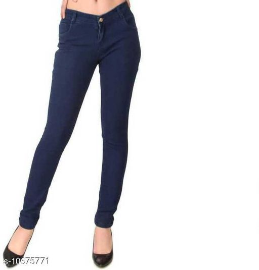 Jeans Classic Fabulous Women Jeans Fabric: Silky Denim Pattern : Solid Multipack: 1 Sizes: 28 (Waist Size: 28 in, Length Size: 39 in) 30 (Waist Size: 30 in, Length Size: 39 in) 32 (Waist Size: 32 in, Length Size: 39 in) 34 (Waist Size: 34 in, Length Size: 39 in) 36 (Waist Size: 36 in, Length Size: 39 in) Sizes Available: 28, 30, 32, 34, 36 *Proof of Safe Delivery! Click to know on Safety Standards of Delivery Partners- https://ltl.sh/y_nZrAV3   Catalog Name: Classic Fabulous Women Jeans CatalogID_1959757 C79-SC1032 Code: 624-10675771-