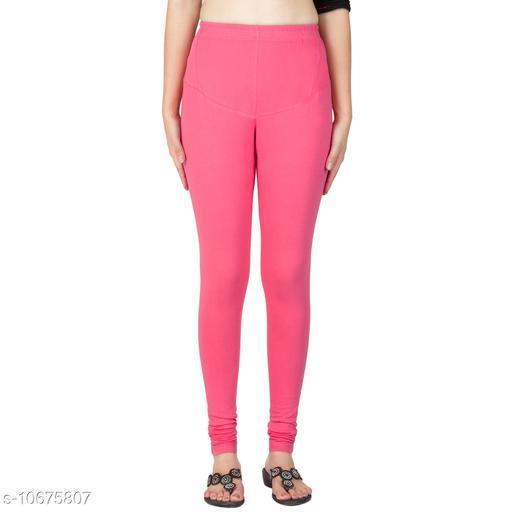 Trend Inn Women's Cotton Leggings Combo Set of 2 | Legging for Women | Legging Combo Set | Cotton Leggings | Churidar Leggings