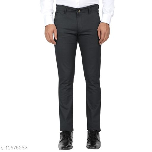 Trousers Mens Formal Trousers  *Fabric* Satin  *Sizes*   *30 (Waist Size* 30 in, Length Size  *Sizes Available* 30 *    Catalog Name: Fashionable Fashionista Men Trousers CatalogID_1959810 C69-SC1212 Code: 776-10675982-