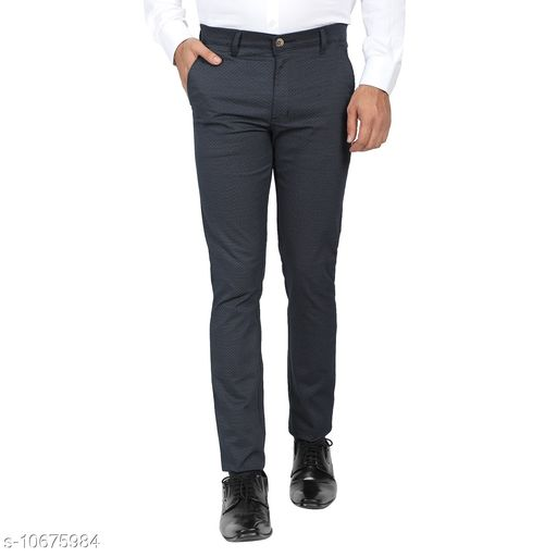 Trousers Mens Formal Trousers  *Fabric* Satin  *Sizes*   *30 (Waist Size* 30 in, Length Size  *Sizes Available* 30 *    Catalog Name: Fashionable Fashionista Men Trousers CatalogID_1959810 C69-SC1212 Code: 776-10675984-