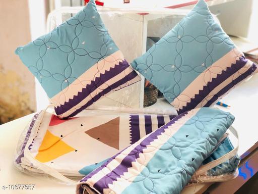 Diwali Gift Amazing 5 Piece Double Bedsheet Set