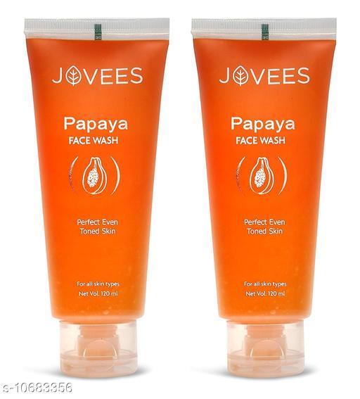 Jovees Papaya Face wash(Pack Of 2)