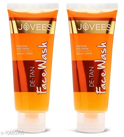 Jovees De-Tan Face wash (Pack Of 2)