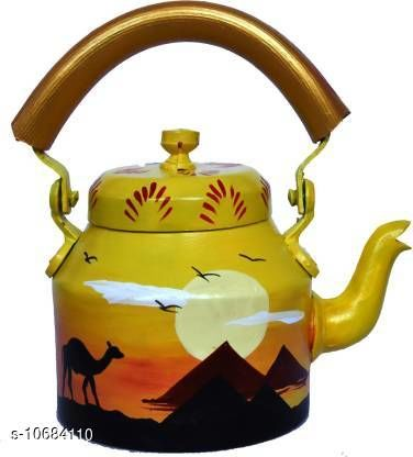 Kettles Trendy Kettle  *Material* Alluminium  *Capacity* 1 L  *Multipack* Pack of 1  *Size* Free Size  *Sizes Available* Free Size *    Catalog Name: Fancy New Kettles CatalogID_1961672 C104-SC1486 Code: 209-10684110-