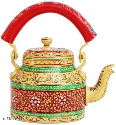 Kettles Trendy Kettle  *Material* Alluminium  *Capacity* 1 L  *Multipack* Pack of 1  *Size* Free Size  *Sizes Available* Free Size *    Catalog Name: Fancy New Kettles CatalogID_1961672 C104-SC1486 Code: 209-10684113-