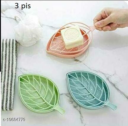 Soap Dishes saboodani  *Pack* Pack of 3  *Sizes Available* Free Size *    Catalog Name: Latest Soap Dishes CatalogID_1961883 C132-SC1585 Code: 922-10684779-