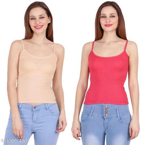 Camisoles Comisoles  *Fabric* Cotton  *Multipack* 2  *Sizes*  Free Size  *Sizes Available* Free Size *    Catalog Name: Stylus Women Camisoles CatalogID_1963440 C76-SC1047 Code: 802-10691480-