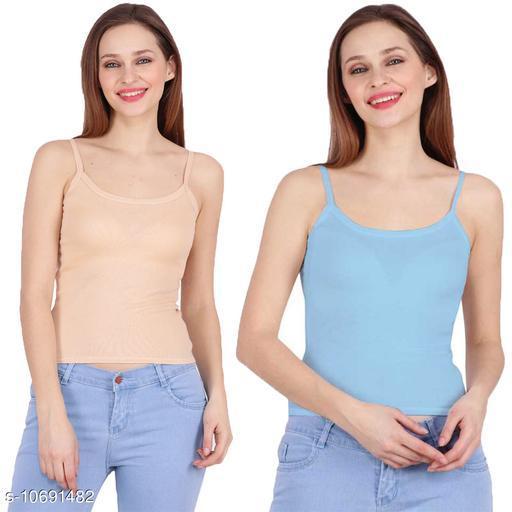 Camisoles Comisoles  *Fabric* Cotton  *Multipack* 2  *Sizes*  Free Size  *Sizes Available* Free Size *    Catalog Name: Stylus Women Camisoles CatalogID_1963440 C76-SC1047 Code: 802-10691482-