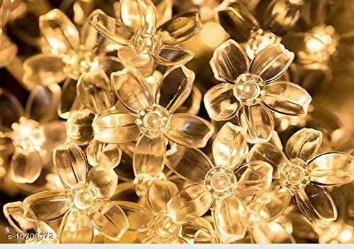 Diwali Lightings Arnah Treasure Flower Fairy String Lights, 20 LED Christmas Lights for Diwali Home Decoration (Warm White)  *Product Name* Arnah Treasure Flower Fairy String Lights, 20 LED Christmas Lights for Diwali Home Decoration (Warm White)  *Material* Plastic  *Color* Yellow  *Sizes*   *Sizes Available* Free Size *    Catalog Name:  Diwali Lightings CatalogID_1966225 C98-SC1377 Code: 573-10703572-