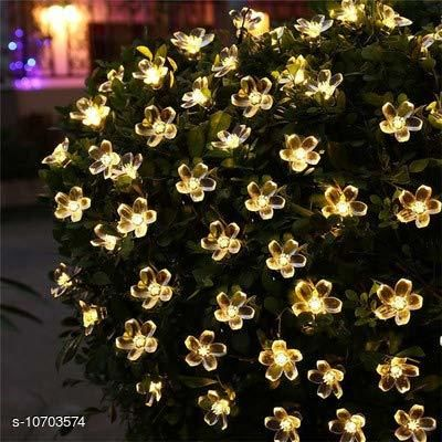 Diwali Lightings Arnah Treasure Flower Fairy String Lights, 20 LED Christmas Lights for Diwali Home Decoration (Warm White)  *Product Name* Arnah Treasure Flower Fairy String Lights, 20 LED Christmas Lights for Diwali Home Decoration (Warm White)  *Material* Plastic  *Color* Yellow  *Sizes*   *Sizes Available* Free Size *    Catalog Name:  Diwali Lightings CatalogID_1966225 C98-SC1377 Code: 474-10703574-