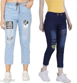 Flying Jogger Women Jeans