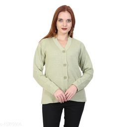 BlushhCollection Women Winter Full Sleeve Cardigan (Pack Of 1)