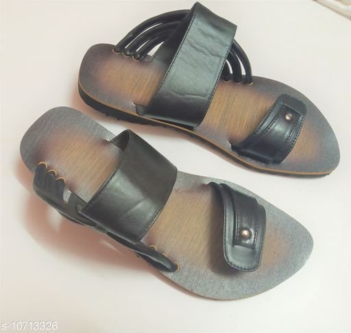 Sandals stylish sandal for men  *Material* Syntethic Leather  *Sole Material* Rubber  *Sizes*  IND-6  *Sizes Available* IND-6 *    Catalog Name: Modern Fabulous Men Sandals CatalogID_1968425 C67-SC1238 Code: 287-10713326-