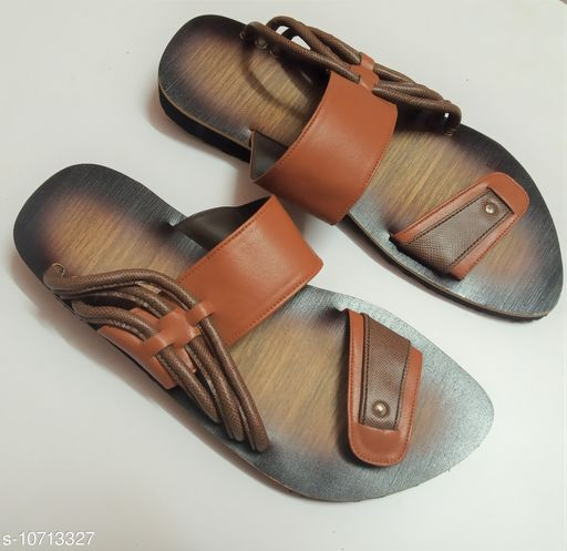Sandals stylish sandal for men  *Material* Syntethic Leather  *Sole Material* Rubber  *Sizes*  IND-6  *Sizes Available* IND-6 *    Catalog Name: Modern Fabulous Men Sandals CatalogID_1968425 C67-SC1238 Code: 287-10713327-