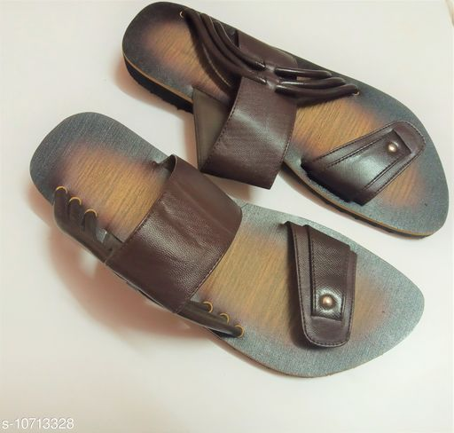 Sandals stylish sandal for men  *Material* Syntethic Leather  *Sole Material* Rubber  *Sizes*  IND-6  *Sizes Available* IND-6 *    Catalog Name: Modern Fabulous Men Sandals CatalogID_1968425 C67-SC1238 Code: 287-10713328-