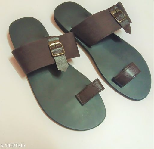 Sandals casual sandal for men  *Material* Syntethic Leather  *Sole Material* Rubber  *Sizes*  IND-6  *Sizes Available* IND-6 *    Catalog Name: Relaxed Trendy Men Sandals CatalogID_1970557 C67-SC1238 Code: 287-10721612-