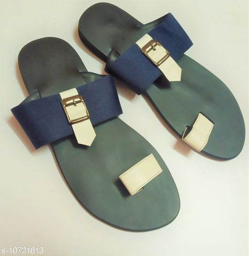 Sandals casual sandal for men  *Material* Syntethic Leather  *Sole Material* Rubber  *Sizes*  IND-6  *Sizes Available* IND-6 *    Catalog Name: Relaxed Trendy Men Sandals CatalogID_1970557 C67-SC1238 Code: 287-10721613-