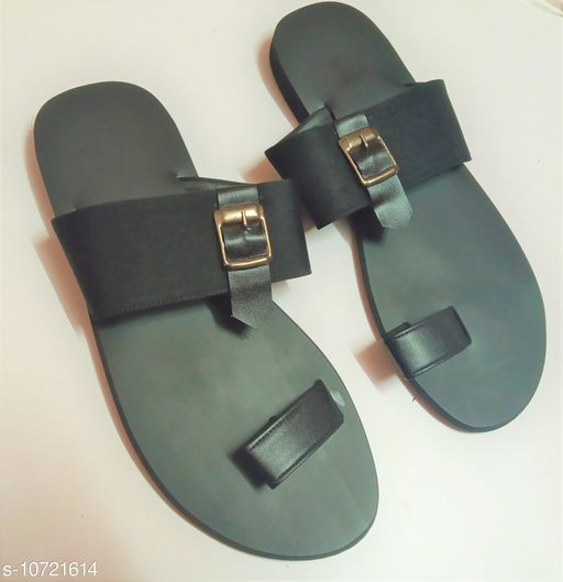 Sandals casual sandal for men  *Material* Syntethic Leather  *Sole Material* Rubber  *Sizes*  IND-6  *Sizes Available* IND-6 *    Catalog Name: Relaxed Trendy Men Sandals CatalogID_1970557 C67-SC1238 Code: 287-10721614-